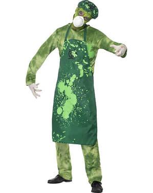 Déguisement zombie contaminé homme