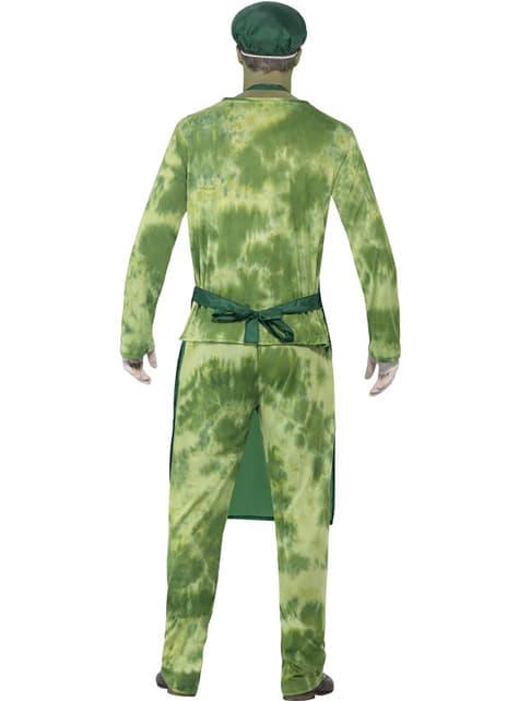 Disfraz de contaminado biológico para hombre - hombre