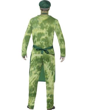 Costum de contaminat biologic pentru bărbat