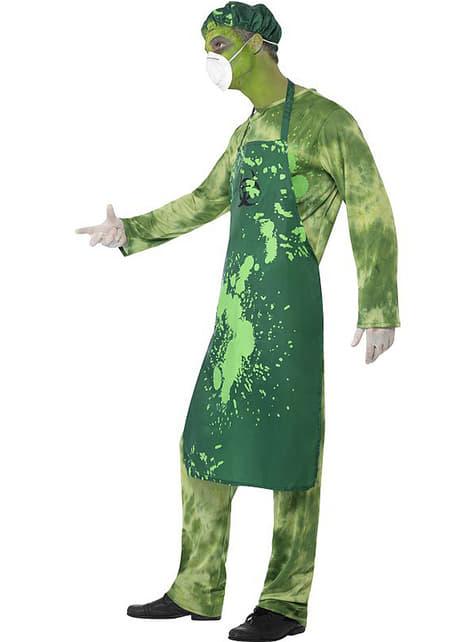 Disfraz de contaminado biológico para hombre - original
