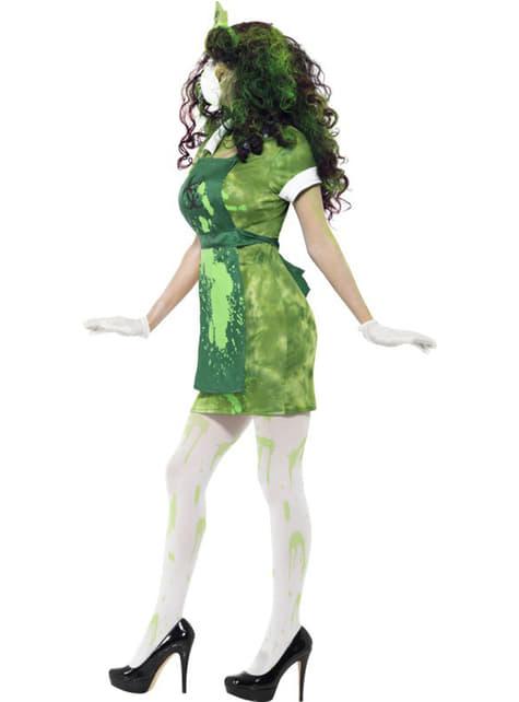 Disfraz de contaminada biológica para mujer