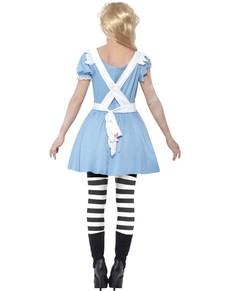 Zombie Alice Kostüm für Damen