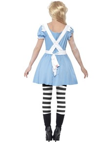 Zombie Alice Kostyme til Damer