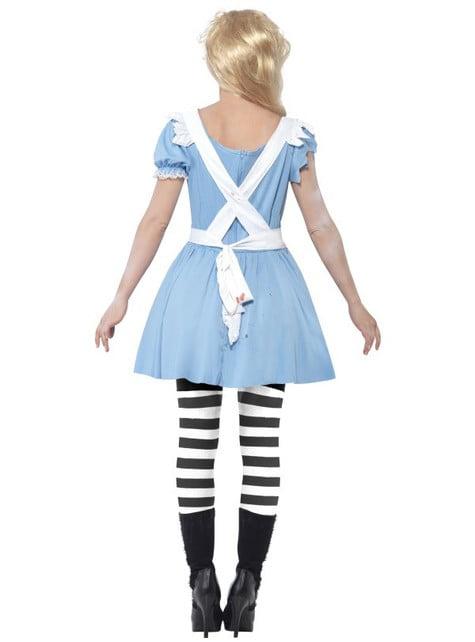 Alice als zombie Kostuum voor vrouwen