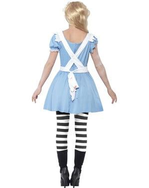 Costume da Alice zombie da donna