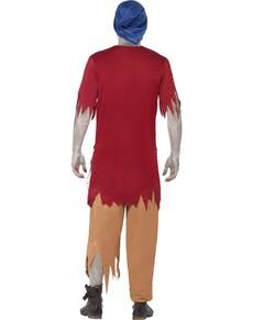 Zombie Dverg Kostyme for Mann