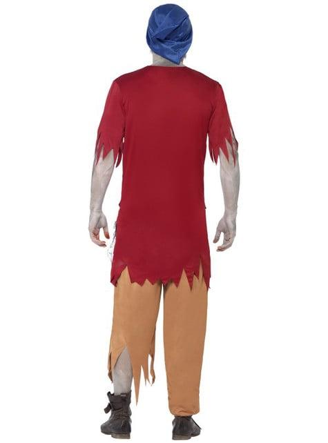 Disfraz enanito zombie para hombre - hombre