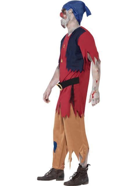 Disfraz enanito zombie para hombre - original
