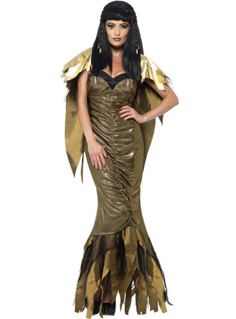 Disfraz de Cleopatra brillante para mujer