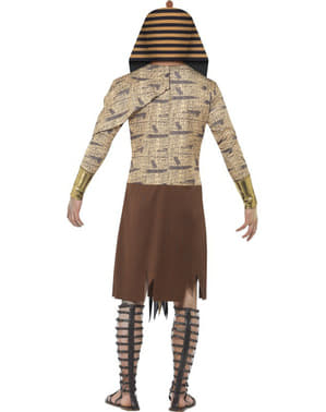 Zombie Egyptian pharoah costume for a man