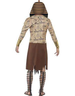 Zombiegyptiskfaraokostume til mand