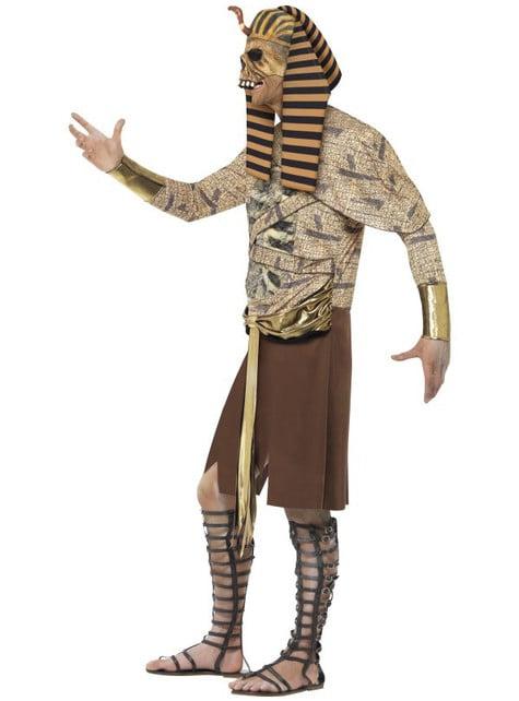 Disfraz de faraón egipcio zombie para hombre - original