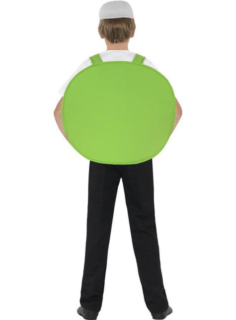 Disfraz de cerdito verde Angry Verde para niño - infantil