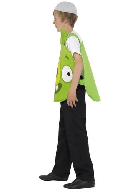 Disfraz de cerdito verde Angry Verde para niño - original