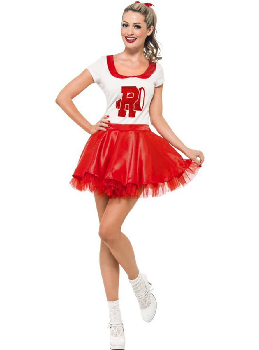 Sandy cheerleader costume for a woman ...  sc 1 st  Funidelia & Grease Costumes online | Funidelia