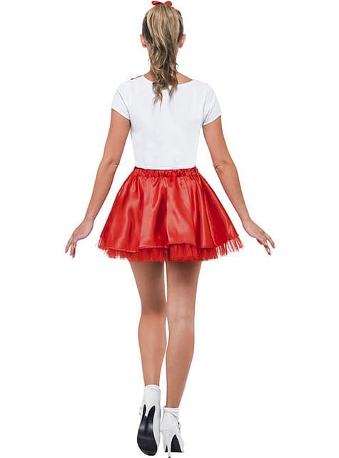 Sandy cheerleader costume for a woman