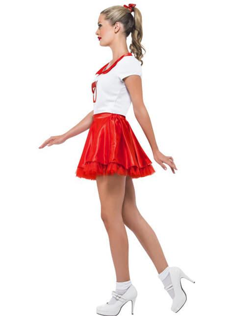 Disfraz de Sandy animadora para mujer - traje