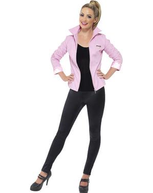 Jaket wanita Pink untuk seorang wanita