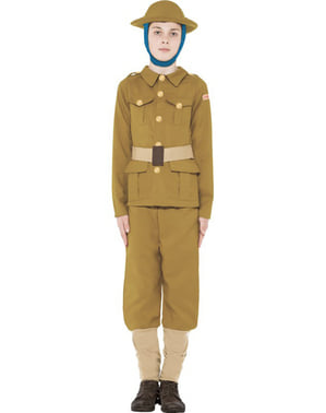 Costum Primul Război Mondial Horrible Histories pentru băiat
