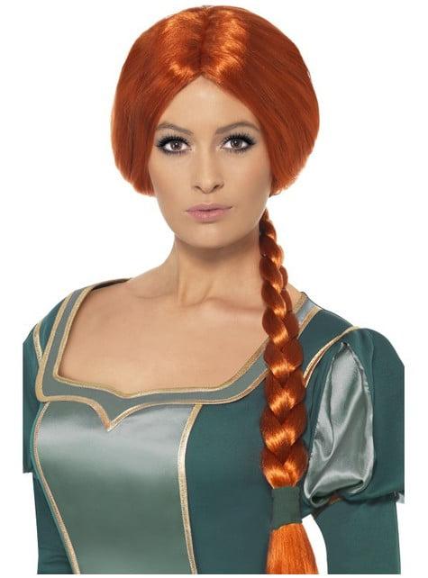 Peluca de Fiona para mujer