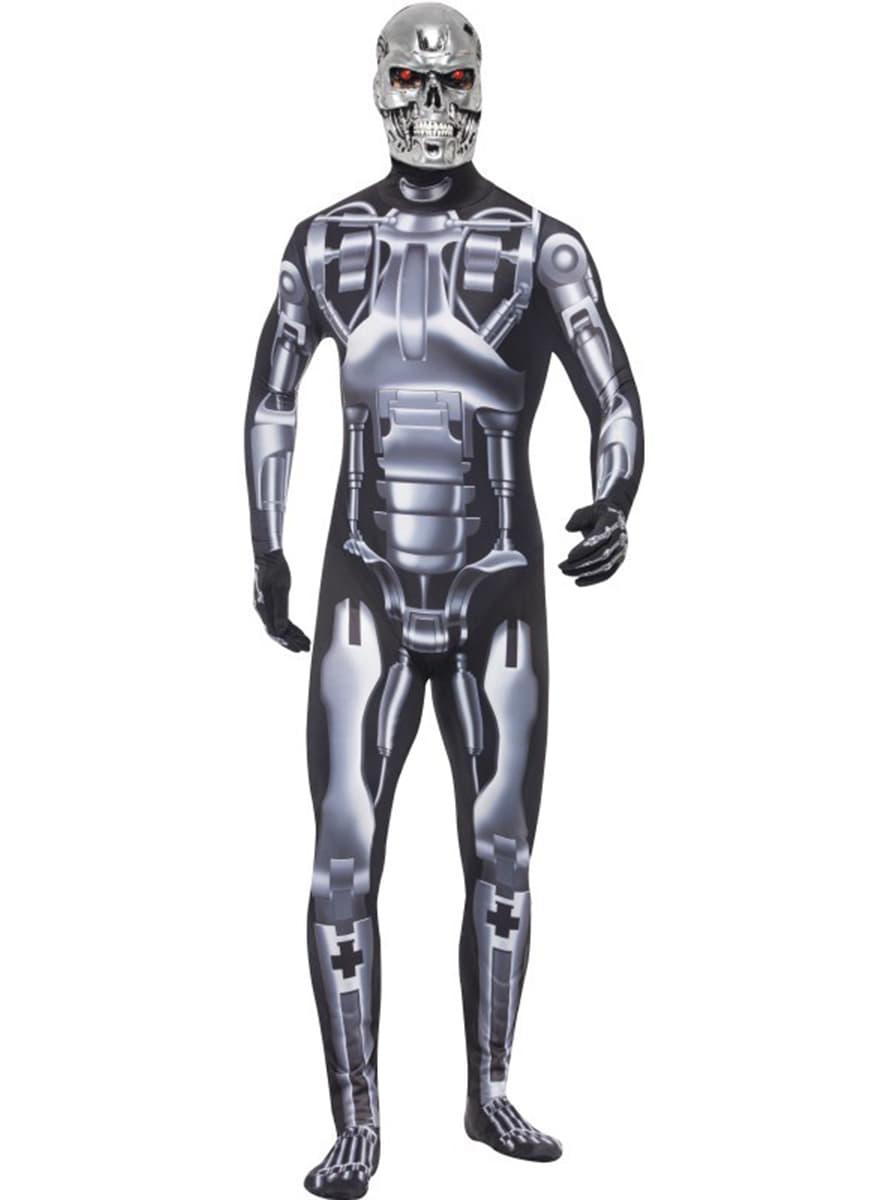 endoskeleton kost m f r herren ganzk rperanzug funidelia. Black Bedroom Furniture Sets. Home Design Ideas