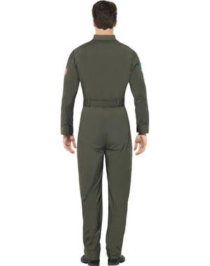 Costum de aviator Top Gun deluxe pentru bărbat