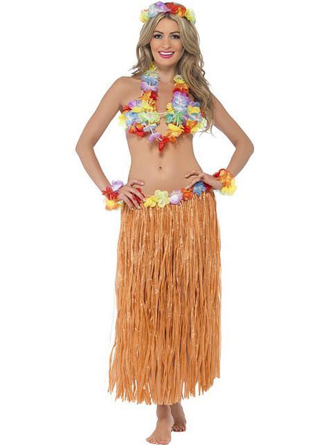 Disfraz de hawaiana Hula para mujer