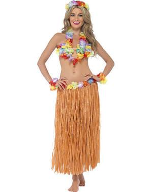 Hawaii Hula Maskeraddräkt Vuxen