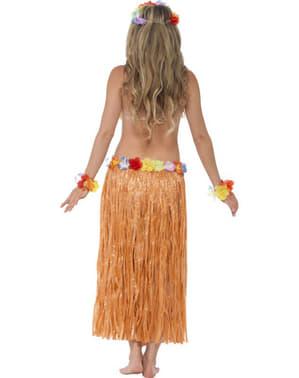 Hula hula hawaiipigekostume til voksen