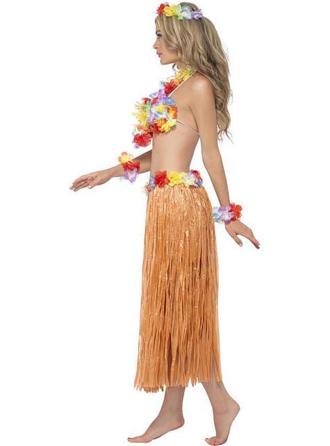 Fato de havaiana Hula para mulher