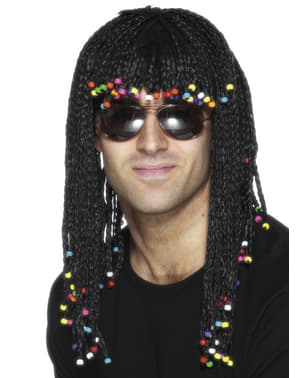 Wig with African Braids