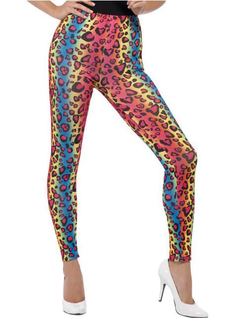 Luipaard legging in verschillende kleuren voor vrouwen