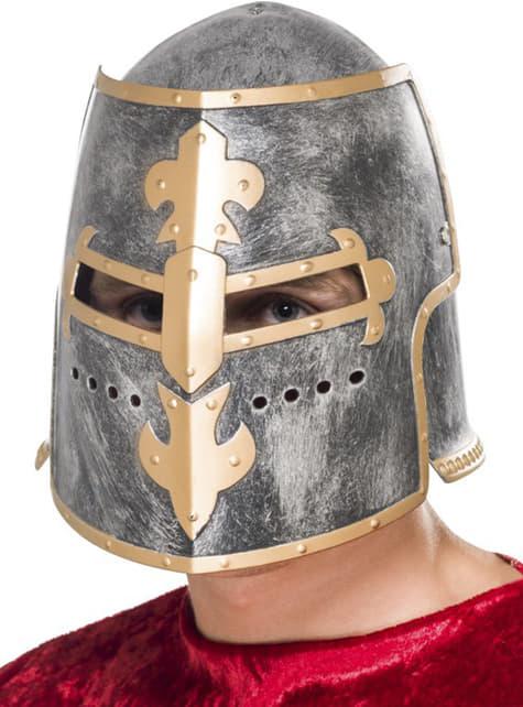 中世の十字軍ヘルメット
