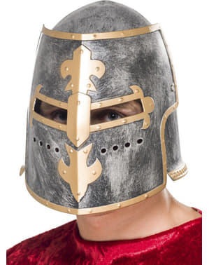 Casco medieval Crusader para adulto