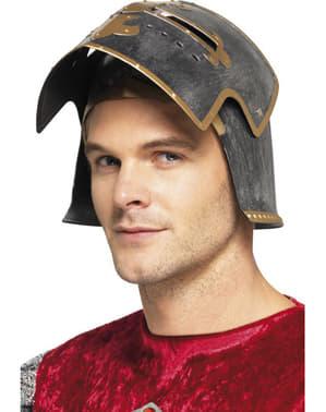 Capacete medieval Crusader para adulto
