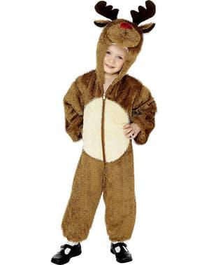 Rentier Kostüm für Kinder mit Kapuze