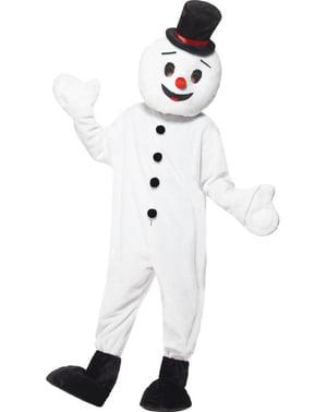 Fato de boneco de neve supreme para adulto