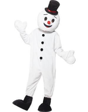 Snowman supreme costume for an adult