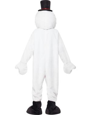 Costume da pupazzo di neve supreme da adulto