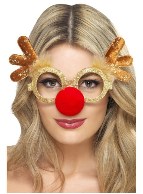 Julerensdyrbriller