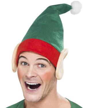 Elfenmütze für Erwachsene weihnachtlich