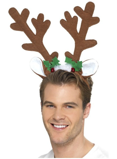 Cuernos de alce navideño - para tu disfraz