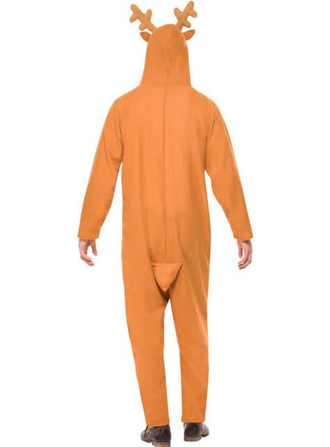 Disfraz de reno con capucha para hombre - hombre