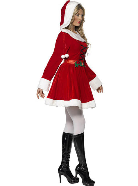 Mama Noel Christmas costume for a woman
