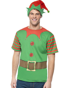 Elf costume kit for a man  sc 1 st  Funidelia & Christmas Elf Costumes online | Funidelia