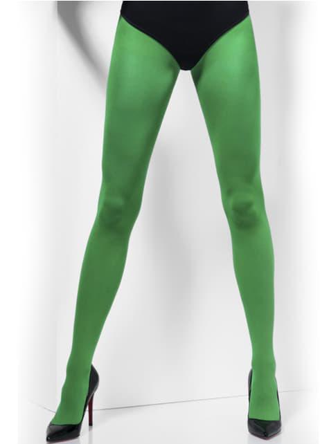 Átlátszó zöld harisnya