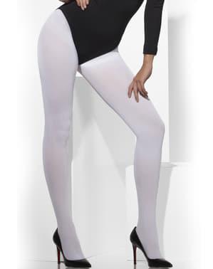 Valkoiset Peittävät sukkahousut