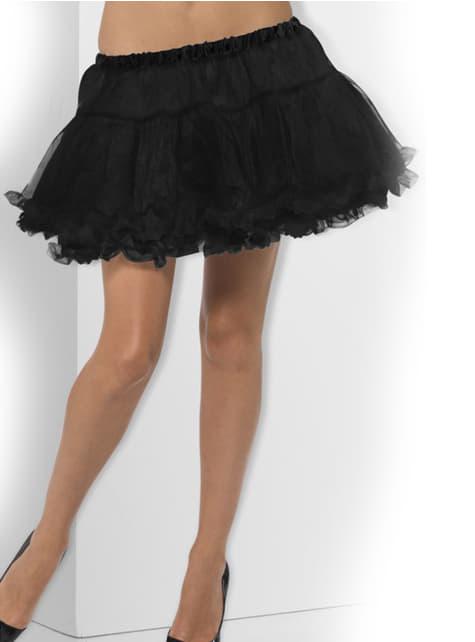 Enagua de tutú negra - para tu disfraz