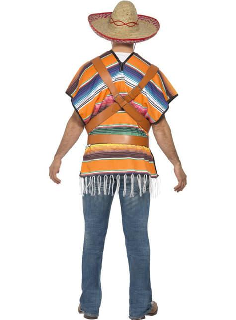 Disfraz de mexicano tequilero para hombre