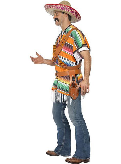 Mexické Shot Boy Costume pre mužov